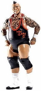 Mattel WWE Wrestling Basic Series 34 Action Figure #66 Brodus Clay