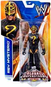 Mattel WWE Wrestling Basic Series 40 Action Figure #33 Rey Mysterio