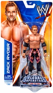 Mattel WWE Wrestling Basic Series 40 Action Figure #35 Zack Ryder