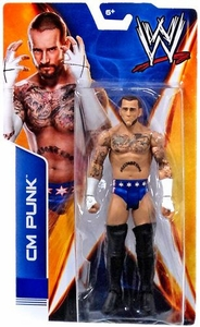 Mattel WWE Wrestling Basic Signature Series 2014 Action Figure CM Punk