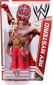Mattel WWE Wrestling Basic Signature Series 3 Action Figure Rey Mysterio [Pink Mask & Pants]