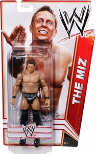 Mattel WWE Wrestling Basic Signature Series 3 Action Figure The Miz [Black Awesome Trunks]