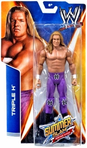 Mattel WWE Wrestling Basic SummerSlam Heritage Action Figure Triple H