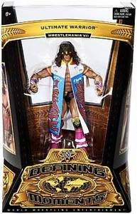 Mattel WWE Wrestling Defining Moments Series 2 Action Figure Ultimate Warrior [Wrestlemania VII]