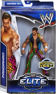 Mattel WWE Wrestling Elite Series 27 Action Figure Fandango [Entrance Vest!]