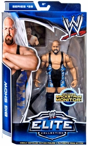 Mattel WWE Wrestling Elite Series 28 Action Figure Big Show [Backstage Monitor!] New!