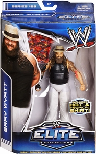 Mattel WWE Wrestling Elite Series 28 Action Figure Bray Wyatt {Wyatt Family} [Hat & Tropical Shirt!] New!