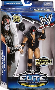 Mattel WWE Wrestling Elite Series 28 Action Figure Demolition Crush [Entrance Vest, Mask & Gauntlets!] New!