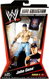 Mattel WWE Wrestling Elite Series 3 Action Figure John Cena BLOWOUT SALE!