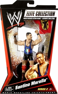 Mattel WWE Wrestling Elite Series 3 Action Figure Santino Marella
