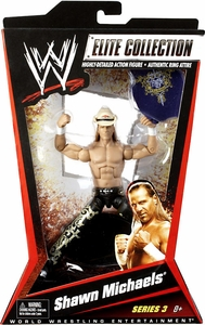 Mattel WWE Wrestling Elite Series 3 Action Figure Shawn Michaels