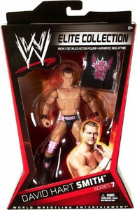 Mattel WWE Wrestling Elite Series 7 Action Figure David Hart Smith