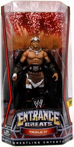 Mattel WWE Wrestling Entrance Greats Action Figure Triple H [WrestleMania 22 King of Kings Attire]
