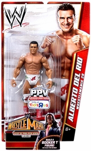 Mattel WWE Wrestling Exclusive Best of Pay-Per-View 2013 Wrestlemania 29 Basic Action Figure Alberto Del Rio [Build Booker T] BLOWOUT SALE!
