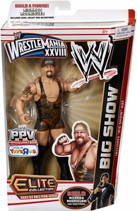 Mattel WWE Wrestling Exclusive Elite Wrestlemania 28 Best of Pay Per View Action Figure Big Show [Build Ricardo Rodriguez!] Big Show Hat!