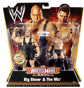 Mattel WWE Wrestling Exclusive WrestleMania 26 Action Figure 2-Pack Big Show & The Miz BLOWOUT SALE!