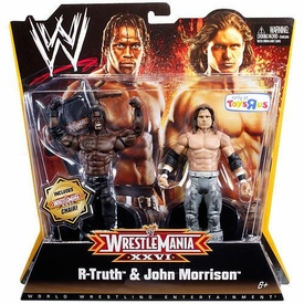 Mattel WWE Wrestling Exclusive WrestleMania 26 Action Figure 2-Pack R-Truth & John Morrison BLOWOUT SALE!