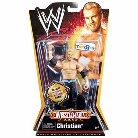 Mattel WWE Wrestling Exclusive WrestleMania 26 Action Figure Christian