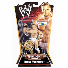 Mattel WWE Wrestling Exclusive WrestleMania 26 Action Figure Drew McIntyre