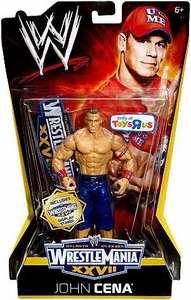 Mattel WWE Wrestling Exclusive WrestleMania 27 Action Figure John Cena BLOWOUT SALE!