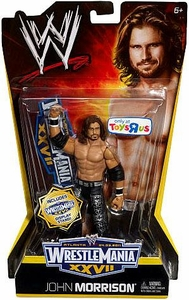 Mattel WWE Wrestling Exclusive WrestleMania 27 Action Figure John Morrison