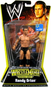 Mattel WWE Wrestling Exclusive WrestleMania 24 Heritage Series 1 Action Figure Randy Orton [Collector Guide Included]