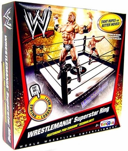 Mattel WWE Wrestling Exclusive Wrestlemania Superstar Ring BLOWOUT SALE!