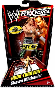 Mattel WWE Wrestling FlexForce Series 1 Hook Throwin' Action Figure Shawn Michaels
