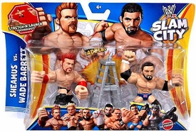 Mattel WWE Wrestling Slam City Action Figure 2-Pack Sheamus & Wade Barrett