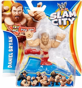 Mattel WWE Wrestling Slam City Action Figure Daniel Bryan New!