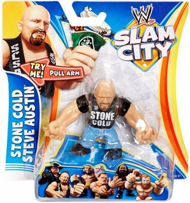 Mattel WWE Wrestling Slam City Action Figure Stone Cold Steve Austin