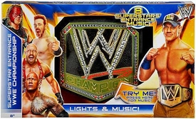 Mattel WWE Wrestling Superstar Entrance Championship Belt [with Lights & Sounds!]