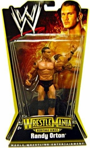 Mattel WWE Wrestling WrestleMania 24 Heritage Series 1 Action Figure Randy Orton