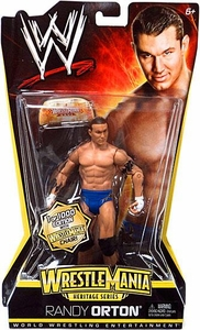 Mattel WWE Wrestling WrestleMania Heritage Series 2 Action Figure Randy Orton [1 of 1000 Wrestlemania Chair]