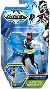 Max Steel 6 Inch Action Figure Boomerang Blast Max Steel New!