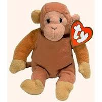 McDonalds 1998 Ty Teenie Beenie Bongo the Monkey