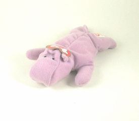 McDonalds 1998 Ty Teenie Beenie Happy the Hippo