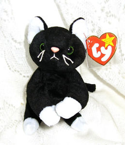 McDonalds 1998 Ty Teenie Beenie Zip the Cat