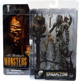 McFarlane Monsters Series 1 Action Figure Mummy [Blood Splattered Package Variant]