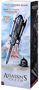 McFarlane Toys Assassin's Creed Black Flag Life Size Replica Hidden Blade & Gauntlet with Skull Buckle New!