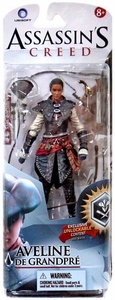 McFarlane Toys Assassin's Creed Series 2 Action Figure Aveline de Grandpr [Unlocks Game Content] New!