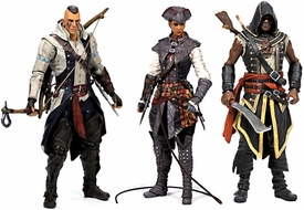 McFarlane Toys Assassin's Creed Series 2 Set of 3 Action Figures [Connor with Mohawk, Assassin Adewale & Aveline de Grandpr] Pre-Order ships October
