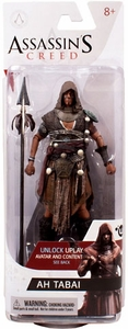 McFarlane Toys Assassin's Creed Series 3 Action Figure Ah Tabai [Unlocks Game Content] New!
