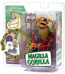 McFarlane Toys Hanna Barbera Series 2 Action Figure Magilla Gorilla with Mr. Peebles