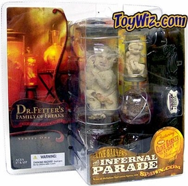 McFarlane Toys Infernal Parade Action Figure Family of Freaks Oddities in a Jar