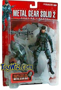 McFarlane Toys Metal Gear Solid 2 Sons of Liberty Action Figure Solid Snake