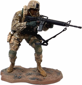 McFarlane Toys Military Soldiers REDEPLOYED Series 1 LOOSE Action Figure U.S. Marine Corp. African American Marine Recon Soldier