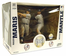 McFarlane Toys MLB Cooperstown Collection Action Figure 2-Pack Roger Maris & Mickey Mantle (New York Yankees)