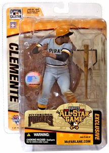 McFarlane Toys MLB Sports Picks 2006 All-Star Game Fan Fest Exclusive Action Figure Roberto Clemente (Pittsburgh Pirates)