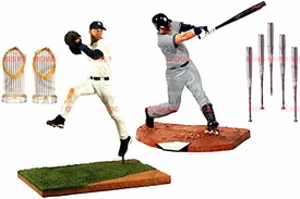 McFarlane Toys MLB Sports Picks Action Figure 2-Pack Derek Jeter [2x Championship Trophies & 5x Silver Slugger Bats] Hot! Pre-Order ships October